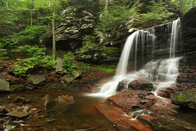 B. Reynolds Falls, Ricketts Glen State Park, PA