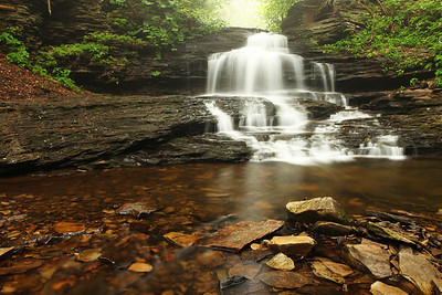 Onondaga Falls, Ricketts Glen State Park, PA