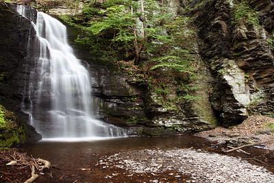 Bridal Veil Falls, Bushkill Falls Park, PA