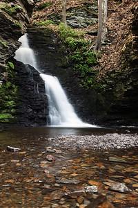 Upper Bridesmaid Falls, Bushkill Falls Park, PA