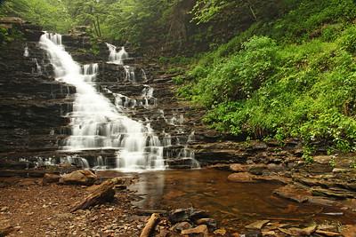 F.L. Ricketts Falls, Ricketts Glen State Park, PA