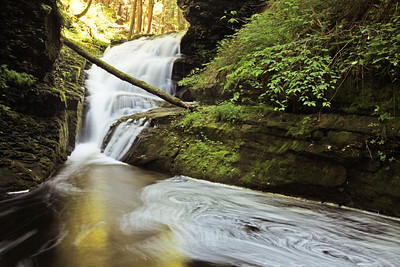 Upper Indian Ladder Falls, Delaware Gap National Recreation Area, PA