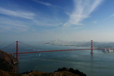 San Francisco Across the Golden Gate