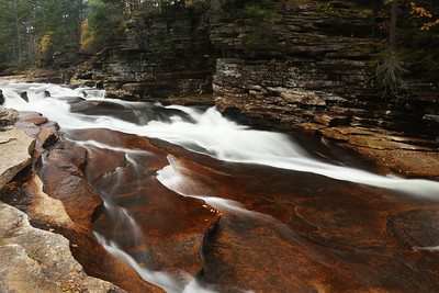 Lower Falls of the Ammonoosuc