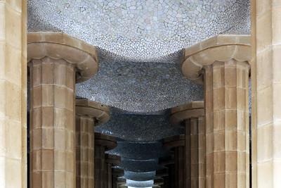 Sala Hipóstila Columns