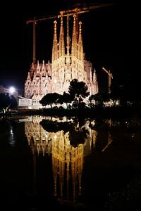 Nativity Side Night-time Reflection