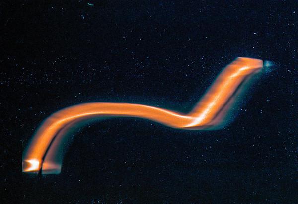 Cosmic Worm