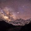 Starry night at Nanga Parbat