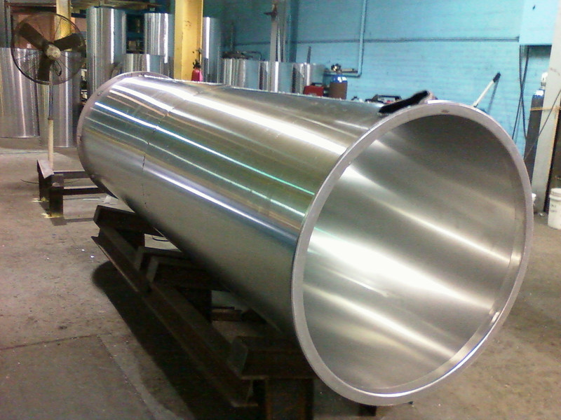Ten Foot Welded Round with Accu-Flanges