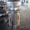 Welded Exhaust Stack with Guy Wire Attachments