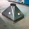 Black Iron Welded Square to Round
