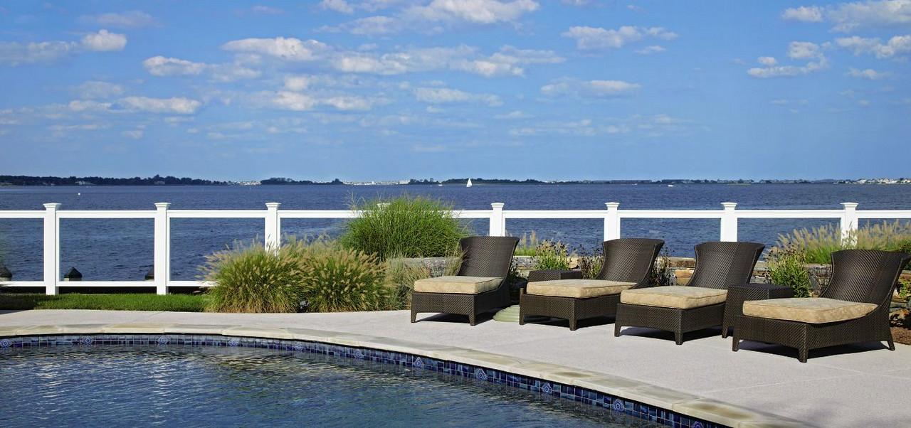 873 - NJ - Glass Pool Fence