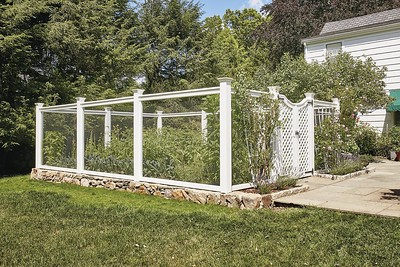 177 - 511352 - Stamford CT - Sag Harbor Fence with Lattice Gate
