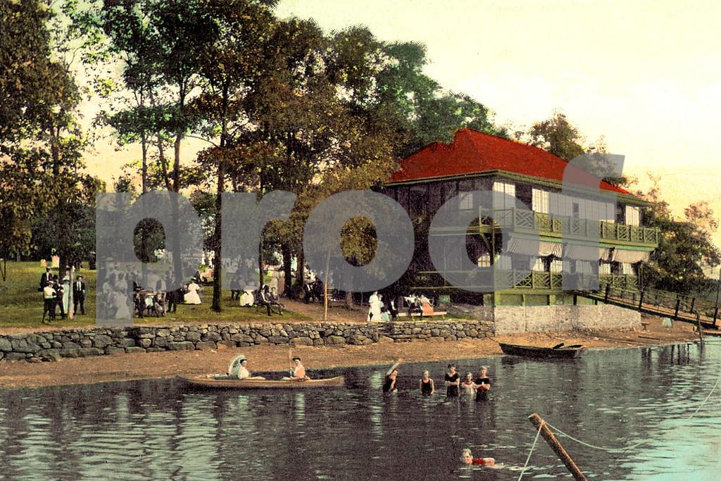 Bathing at Orange Lake, Newburgh, NY