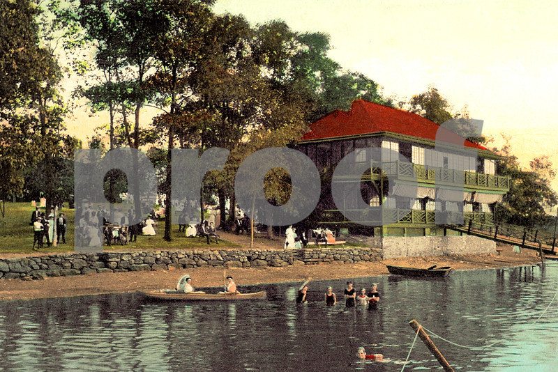 Bathing at Orange Lake, Newburgh, NY