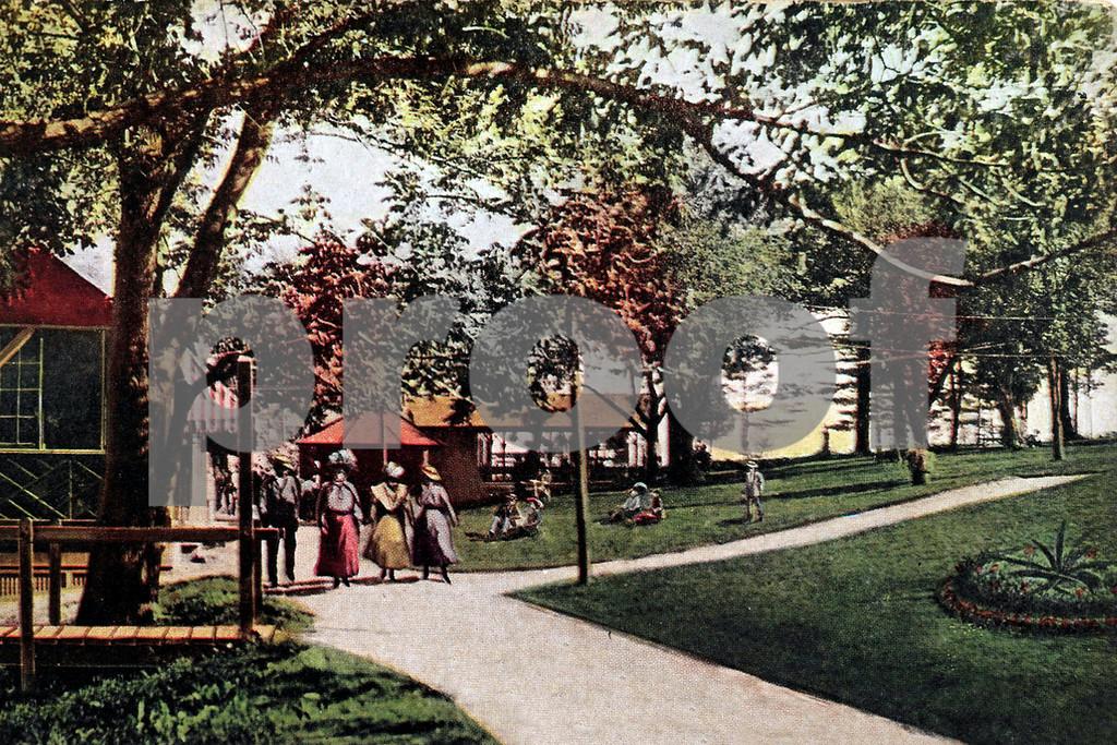 Visitors Entering Orange Lake Park, NY