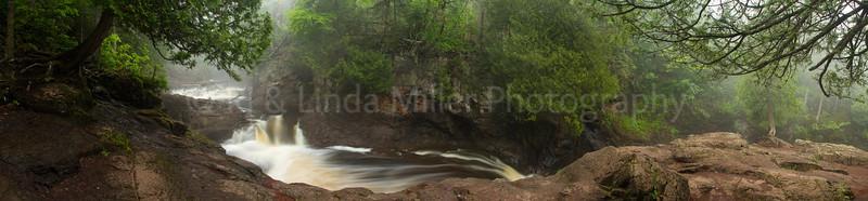 Cook County, MN, Cascade River State Park, Cascade Falls