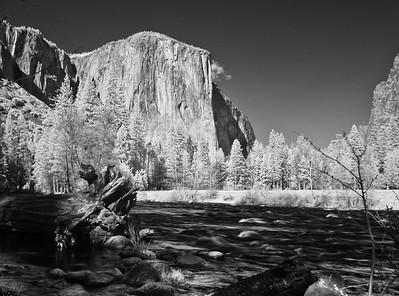 El Capitan  in infrared #5, Yosemite