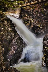 Kancamagus Highway Falls, NH