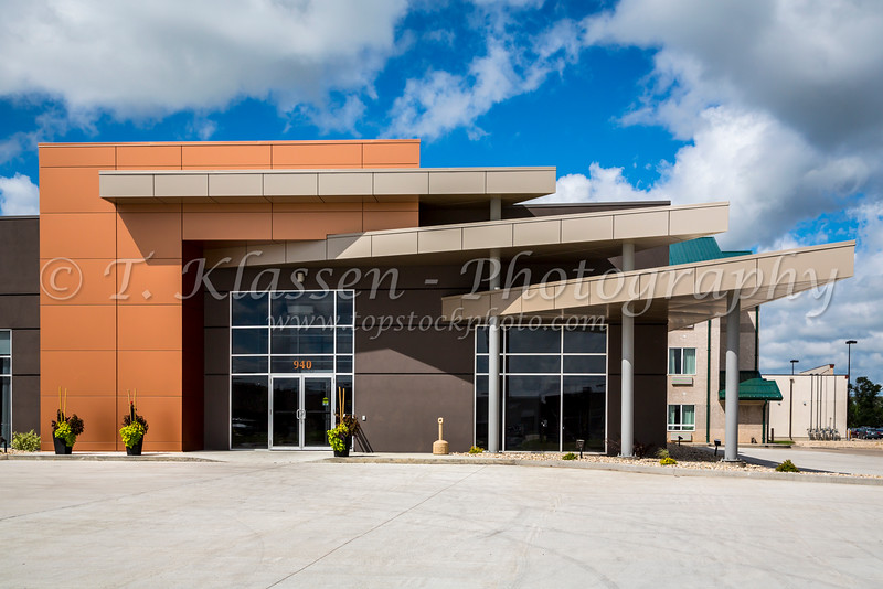 The Days Inn Conference Center exterior building in Winkler, Manitoba, Canada.