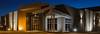 The Days Inn Conference Center at dusk in Winkler, Manitoba, Canada.