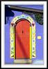 Colorful doorway in historic Old Tucson, Arizona, USA.