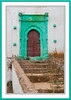 Architecture and remains of the Challah Casbah in Rabat, Morocco.