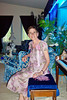 Esther Anne at home in 2004.