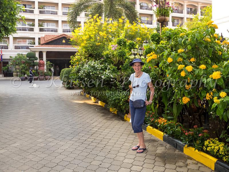 The Somadevi Angkor Hotel in Siem Reap, Cambodia, Asia.
