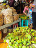 The village and insect market in Skun, Cambodia, Asia.
