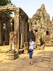 The temple at Angkor Thom near Siem Reap, Cambodia, Asia.