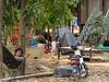 The stone carving village of Santok, Cambodia, Asia.