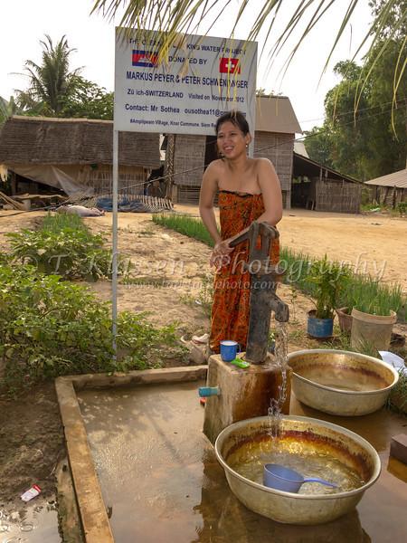 Life in a rural village near Siem Reap, Cambodia, Asia.