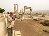 The citadel in Amman, Jordan, Middle East.