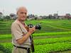 An agriculuratl area near Hanoi, Vietnam, Asia.