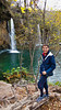 A waterfall in Plitvice Lakes National Park, Croatia.