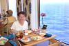 Lunch on the Holland America Cruiseship Zaandam.