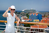 Cruising the Caribbean in Curacao, Netherlands, Antilles.