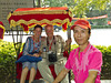 Rickshaw ride through the Hutongs of Beijing, China.