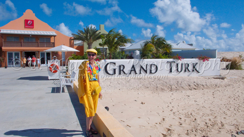 On Grand Turk Island in the Turks and Caicos Islands, Caribbean.