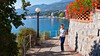 The Lungomare walk from Opatija to Lovran, Croatia.
