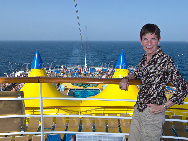 Cruising the Persian Gulf on the Costa Deliziosa.