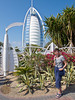 The Burj Al Arab in Dubai, UAE.