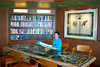 In the library on the Holland America Cruiseship Zaandam.