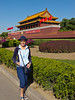 The southern gate to the Forbidden City in Beijing, China.