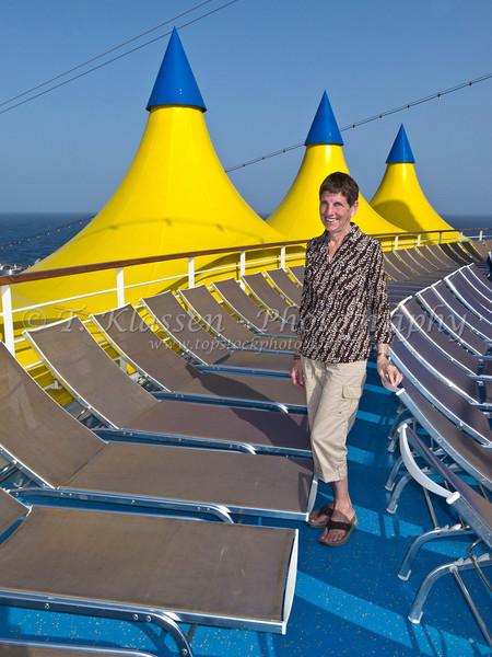 Cruising the Persian Gulf on the Costa Deliziosa.