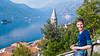 Lake Kotor in Montenegro.