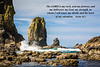 The sea stacks of Canon Beach, Oregon, USA.