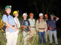 Hawaii Brown Tree Snake Rapid Response team trained by Haldre Rogers (3rd from left) (Guam, May 2003) OK to use this image in publications courtesy of CGAPS