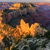 Sunrise at Cape Royal - Grand Canyon-North Rim